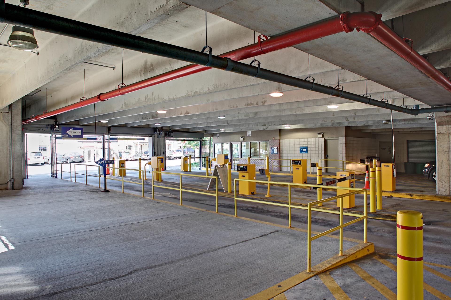 The Crescent Deck Parking Garage Project Wm Blanchard